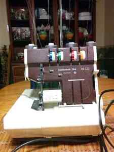 Pfaff Hobbylock 794 Serger with many spools