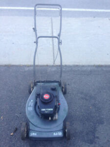 tondeuse essence CRAFTSMAN Eager gas lawn mower 4 HP coupe 20""