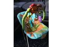 Fisher price musical vibrating bouncer