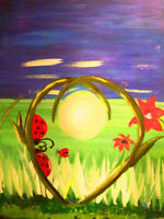 Bring your group for mother's day paint night @ matador Apr 29
