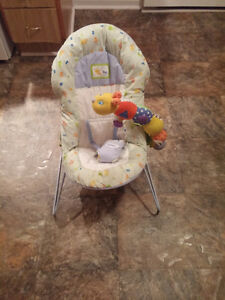 Safety 1st Bouncer Chair with Toy-Washable Padding,Harness