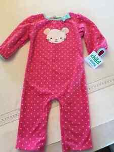 BRAND NEW Baby Girl Sleeper by Carter's