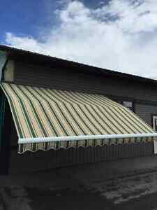 Retractable Cloth Awning