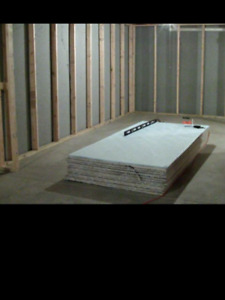 Looking for a quote to install drywall in a garage
