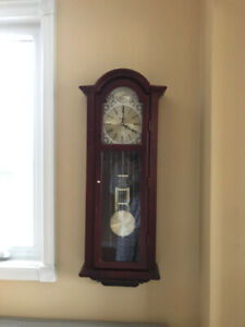 Bulova (Tatianna: C3381) Grandfather Wall Chime Clock