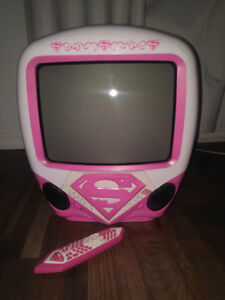 Kid's Supergirl TV & DVD Combo with Remote