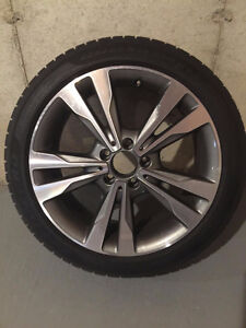 Snow Tires and Wheels/Rims for 2016 Mercedes Benz C300