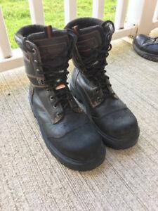 Size 11 Mens JB Goodie Steel Toe Boots