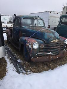 1950 Chevy 5 Window Short Box Pickup