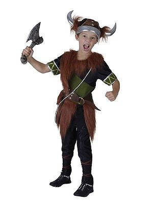 Child Viking Boy Fancy Dress Costume Saxon Book - Viking Boy Kostüme