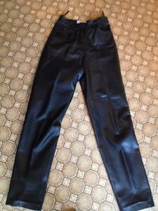 Genuine Soft Leather Pants by Bagatelle! Fully Lined LIKE NEW