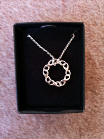 New -Celtic Circle Necklace