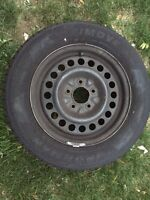 Four Summer Tires on Rims for Sale