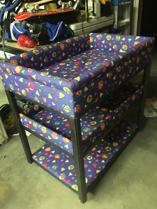Quilted padded Change Table