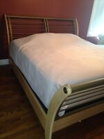 Sleigh Bed Set, King size