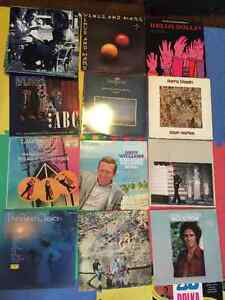Old Records Albums Vinyl Musical Player Christmas Vintage 1 Each