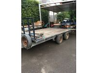 Ifor Williams trailer 16ft with winch