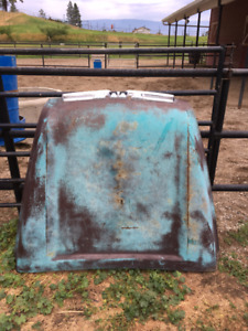 1958/59 GMC Truck Hood. No rust or dents. In Summerland