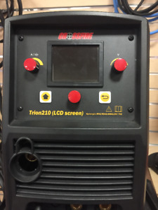 Crossfire TRION 210 LCD TIG/MIG/Stick Welder 115/230V