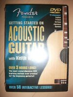 NEW Getting Started On Acoustic Guitar DVD