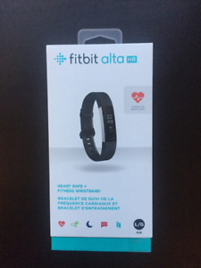 Fitbit Alta HR (LG) - NEVER USED!! with extra leather band!