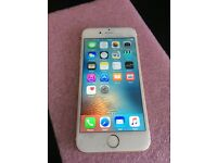 iPhone 6 - o2, tesco mobile, giffgaff - 16gb - white / gold