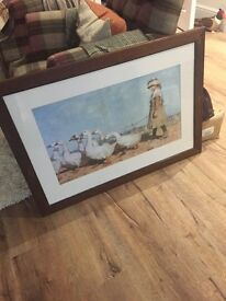 Painting James Guthrie large frame