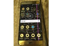 samsung s7 edge gold mobile phone O2 cracked screen and back working repairs