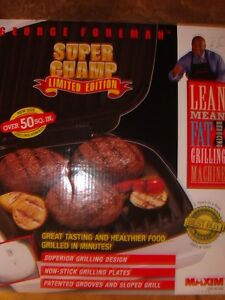 Lean mean fat grilling - BRAND NEW