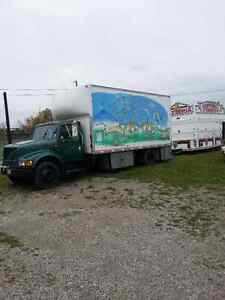 Concession Pizza Trailer & Stock Truck