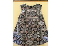 Topshop maternity sleeveless top size 12