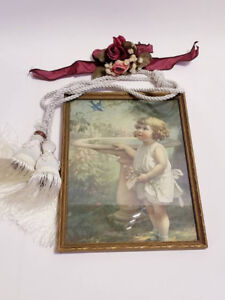 Vintage Framed Print Wall Art by Bessie Pease Guttman