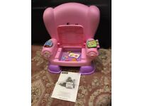 Fisher Price Laugh & Learn Chair Pink