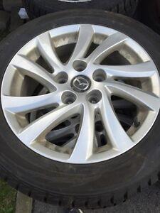 Ensemble de roues et pneus 205/55r16 Mazda  Saguenay Saguenay-Lac-Saint-Jean image 4