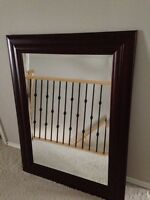 Large Solid Wood Mirror Costco