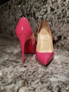 Christian Louboutin, CL Pigalle Patent size 38.5