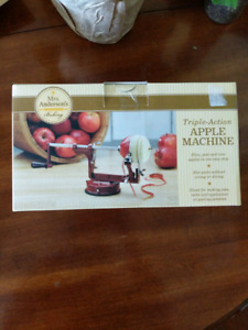 Apple peeler, corer, slicer
