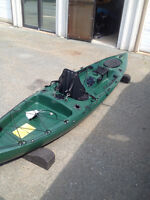 RIOT ESCAPE 12 ANGLER ADDITION WITH RUDDER (4 ONLY)