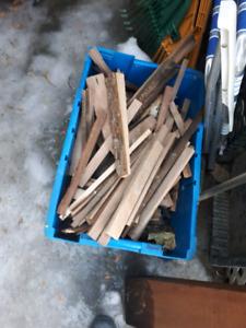Retail de bois et ripp de bois