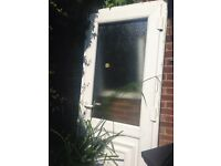 uPVC external door with frame - free collection Stanmore