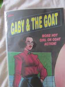 Gaby and the Goat erotic comics