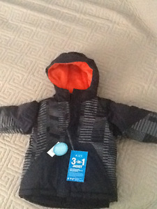 Brand new children's place 3-in-1 jacket Boys size 4