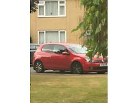 Red VW Golf TDI Bluemotion