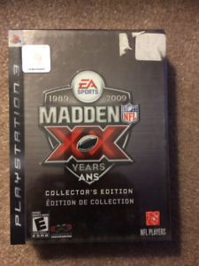 PS3 Madden NFL 09 - 20th Aniversary Collection