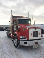 2007 KENWORTH T800 WINCH TRACTOR