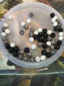 70 billes Shamballa 10 mm