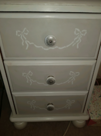 Upcycled pretty bedroom furniture