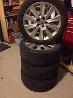 245/45R18 Honda Accord OEM rims+winter tires+tpms sensors