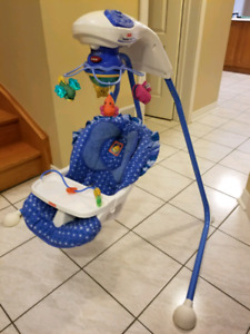Fisher price cradle baby swing