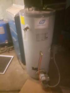 Oil fired hot water tank